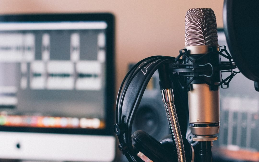 How can I make my voice sound better when recording?